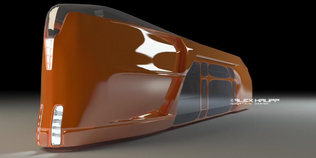 futuristic bus Futuristic Bus