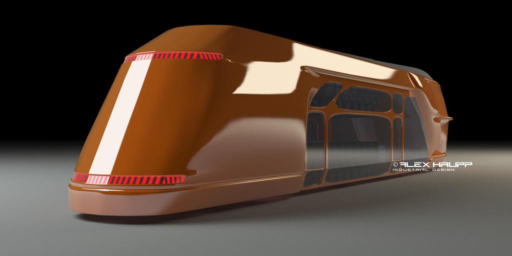 futuristic bus by TR5PROG Futuristic Bus