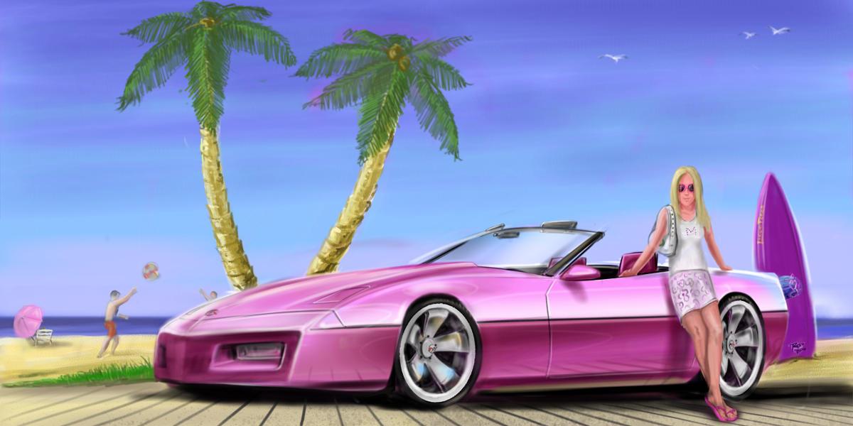 Corvette by reedesigner