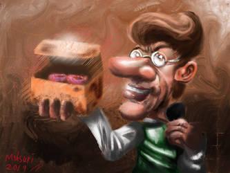 Hugh neutrons-Donut Boy! by mahsurikamal