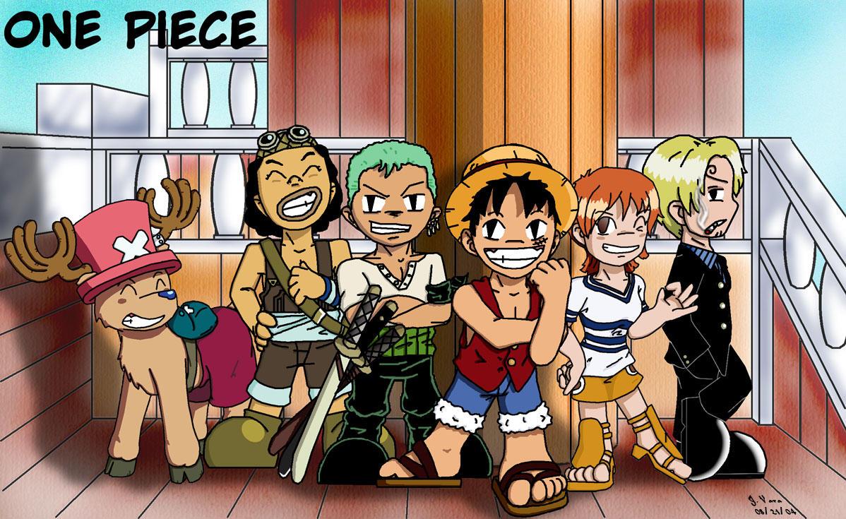 Chibi One Piece By Ssela