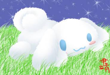 Fluffy Cinnamoroll by XiaoChuu
