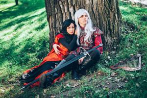 Rhaegar Targaryen and Elia Martell by Fealin-Meril