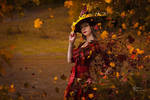 Mabon. Witch's pot.. by Fealin-Meril