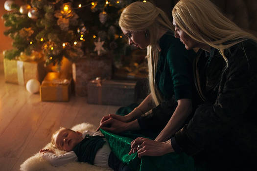 Christmas in  Malfoy Manor.