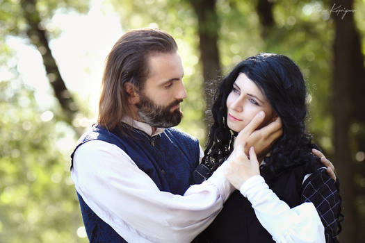 The Witcher (books).Yennefer and Istredd