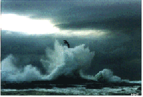 A Crash of Waves by Kayara