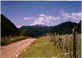 A Dusty Gravel Road