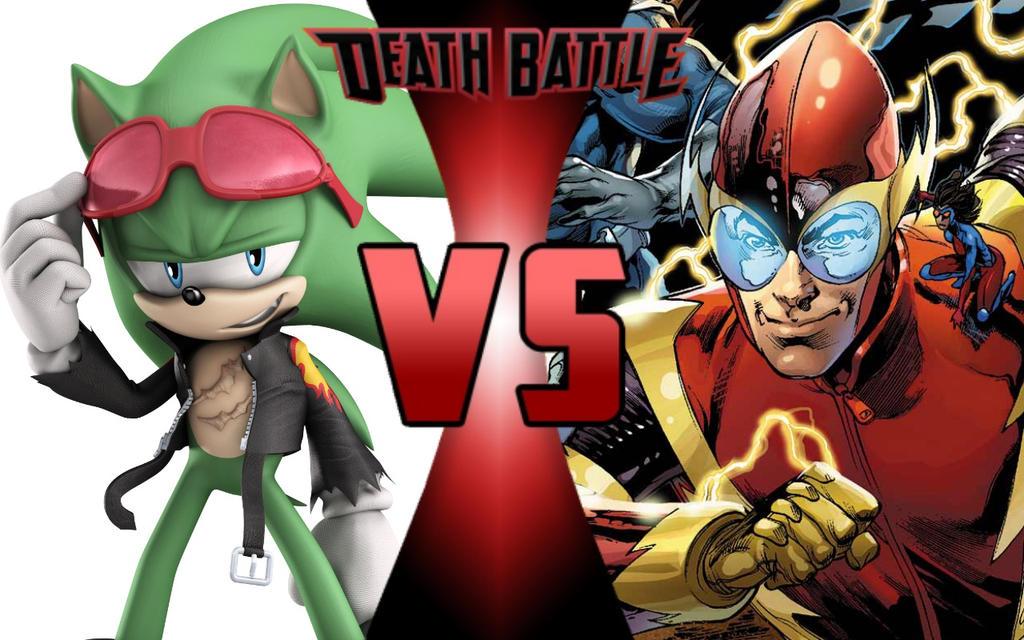 Death Battle Scourge The Hedgehog Vs Johnny Quick By G Odzilla On Deviantart