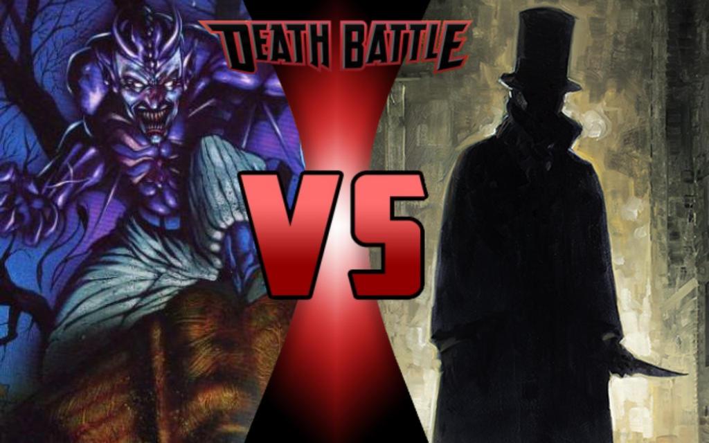DEATH BATTLE: Spring-Heel Jack vs Jack the Ripper by G-Odzilla