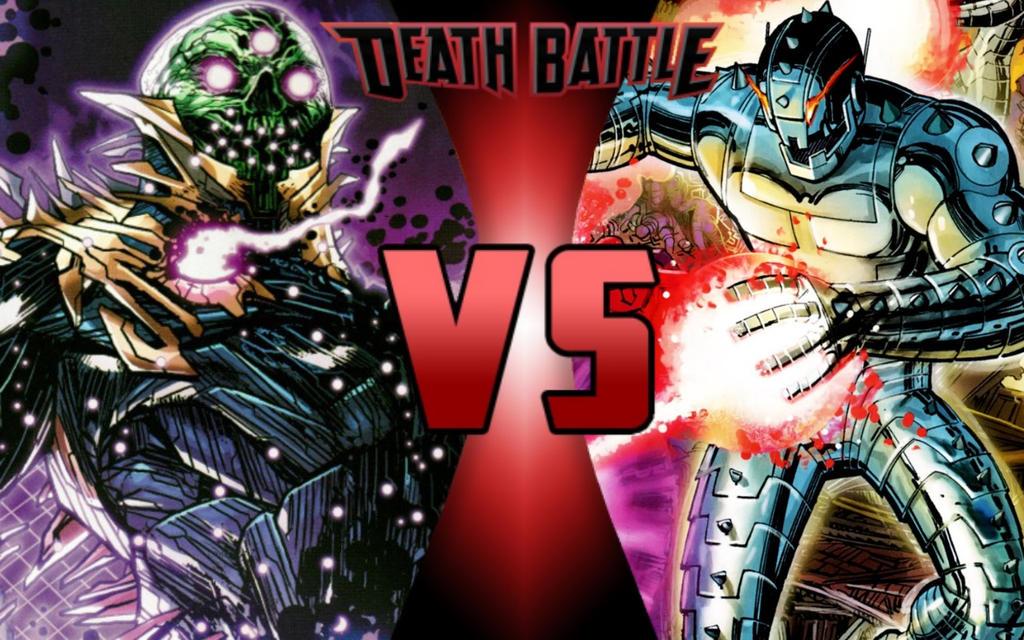 DEATH BATTLE: Brainiac vs Ultron by G-Odzilla on DeviantArt