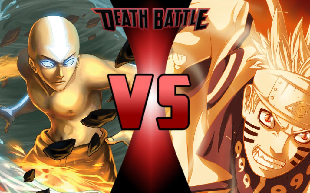 DEATH BATTLE: Aang vs Naruto by G-Odzilla on DeviantArt Naruto Vs Avatar