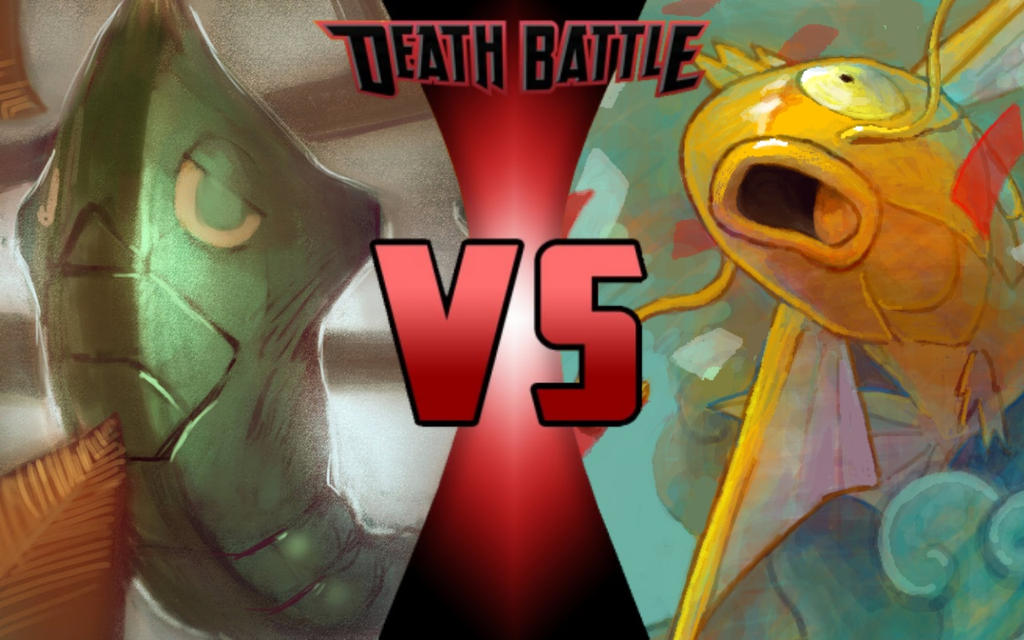 DEATH BATTLE: Metapod vs Magikarp by G-Odzilla