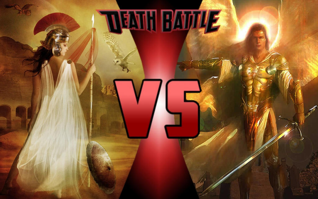Death battle athena vs archangel michael by g odzilla on for Michael b jewelry death