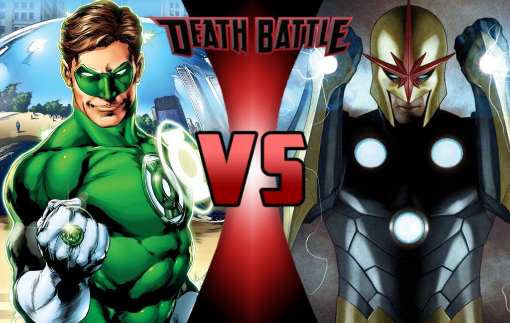 DEATH BATTLE: Green Lantern vs Nova by G-Odzilla