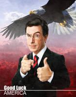 Colbert Reportrait by Stygma7