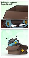 Pokemon Fancomic:A Poke Life, Ray and Lycan.Part 6
