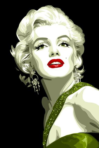 Marilyn Monroe by vosvoskedi