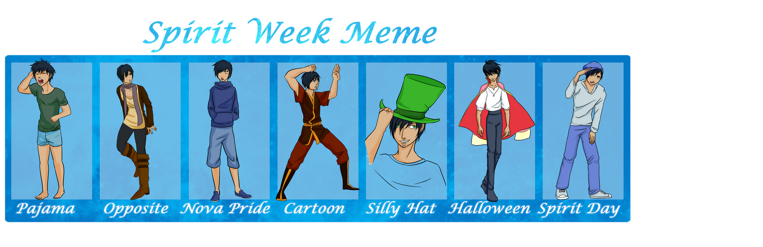 Cartoon Characters You Can Dress Up As : Asterismos spirit week by pinumbra on deviantart
