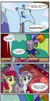 How Pinkie Pie got her cutie mark by CrimsonBugEye