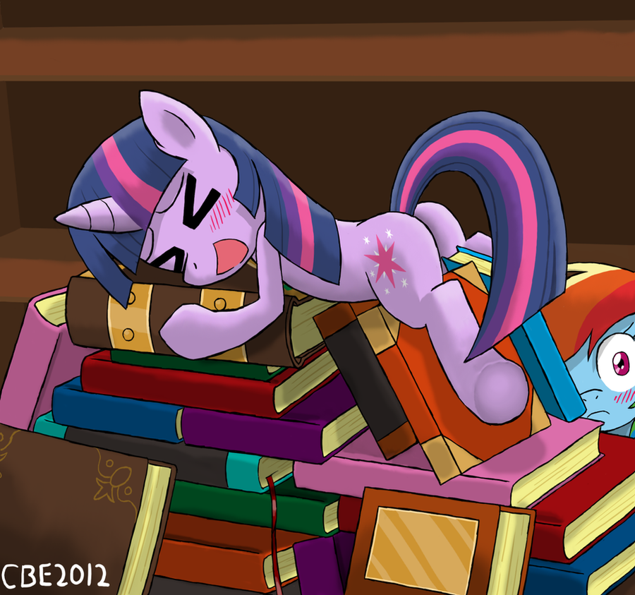 Well-Read Pony by CrimsonBugEye