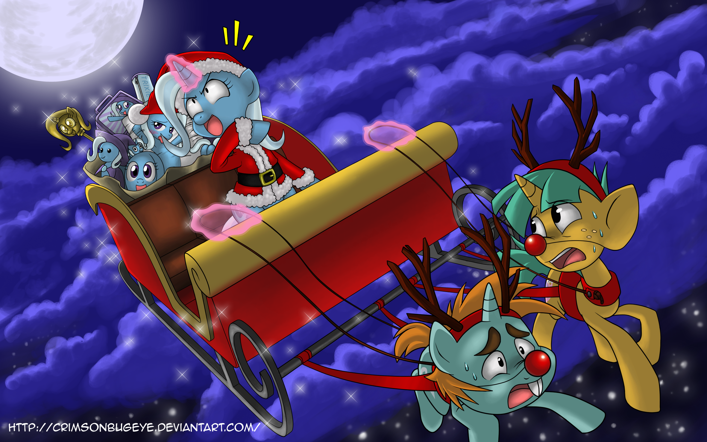 Great and Powerful Christmas by CrimsonBugEye