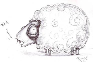 the horrible vampire sheep by riinu-