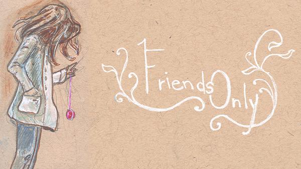 Friends Only Banner Yo-yo by nippyfrog