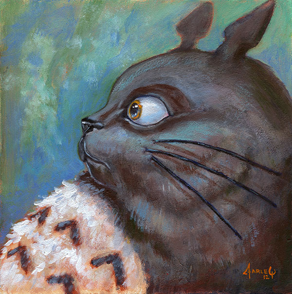 Totoro by nippyfrog