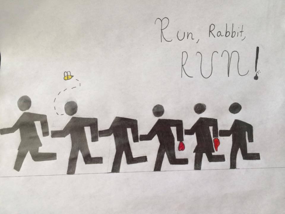 Run, Rabbit, RUN! by ScribbleChaiBird730