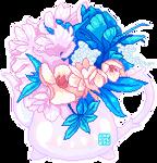 [F2U] Flower Kettle~