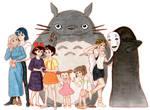 Hayao Miyazaki Fan-art