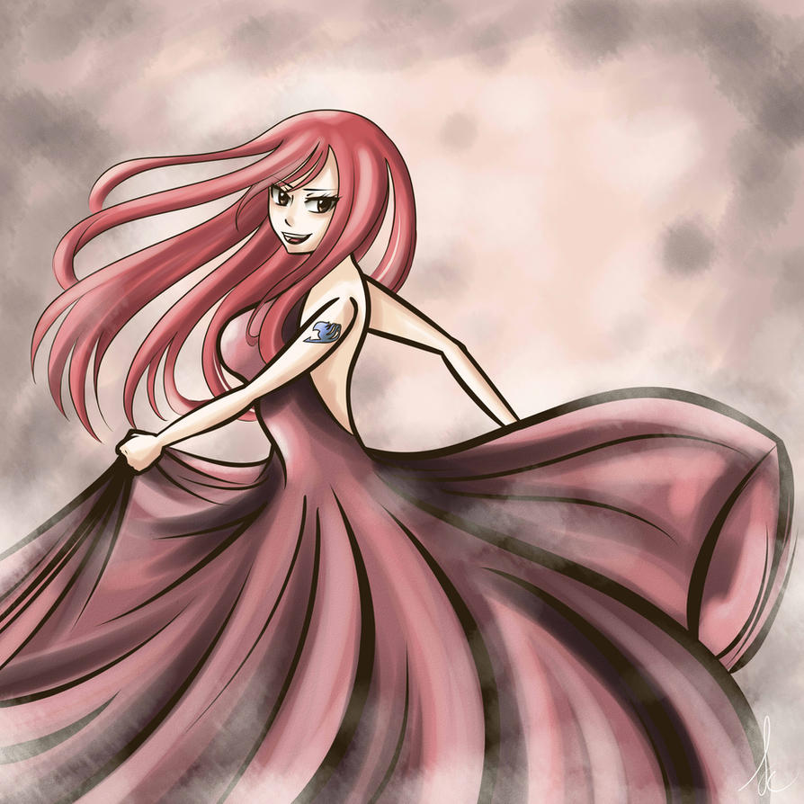 Erza Scarlet Wallpaper: Erza Scarlet By 705067sc On DeviantArt