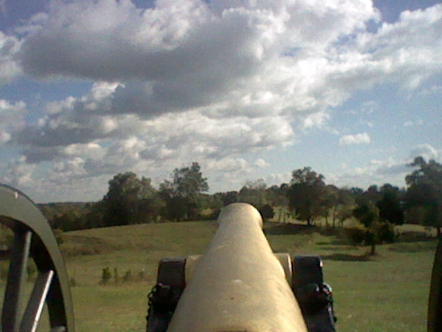 union cannon on Parson's ridge by totaldramamoivemix