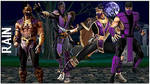 Mortal Kombat - Rain Costumes by MK-Rainplz
