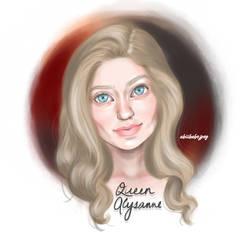 Queen Alysanne Targaryen by abiiibabejpeg