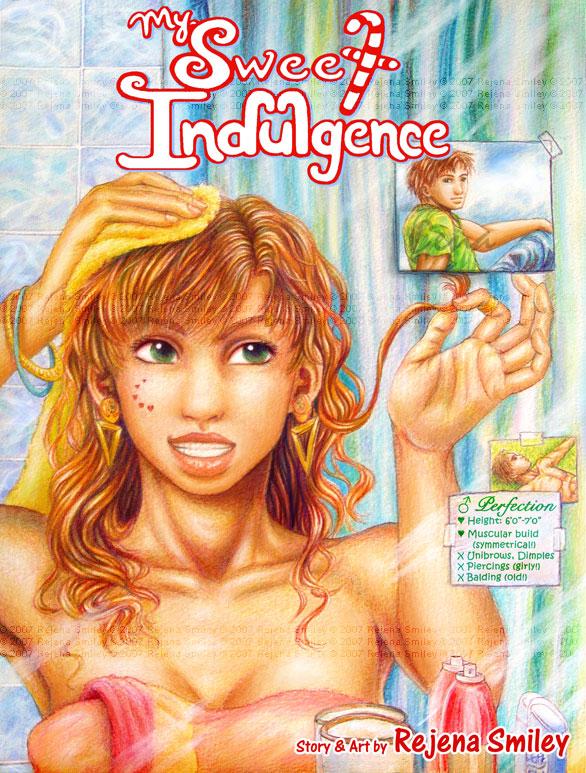My Sweet Indulgence-MockCover2 by genaminna
