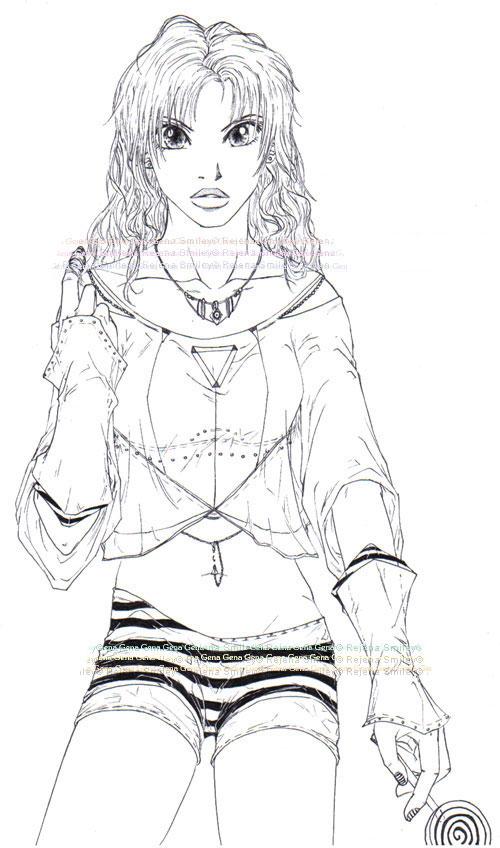 Marihara and her lollipop... by genaminna
