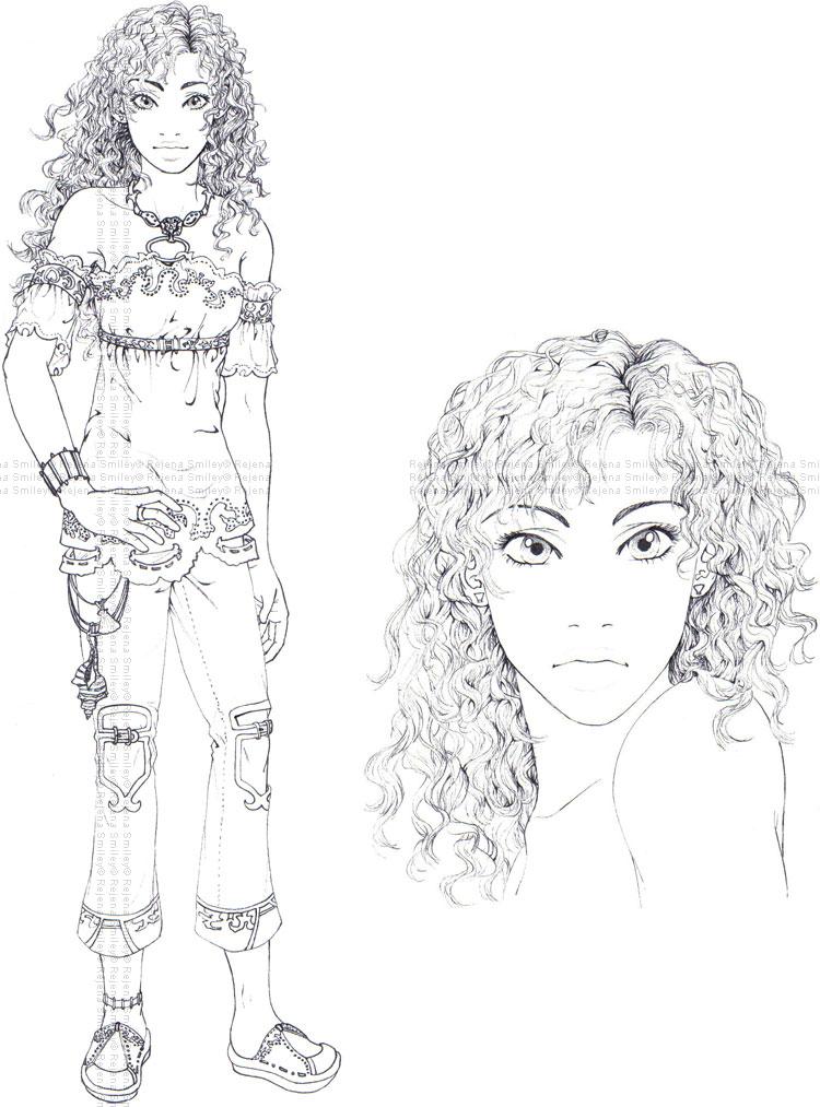 Marihara-- Character model by genaminna