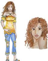 Model Marihara--colored by genaminna