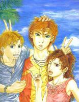 The trio --NKTR by genaminna