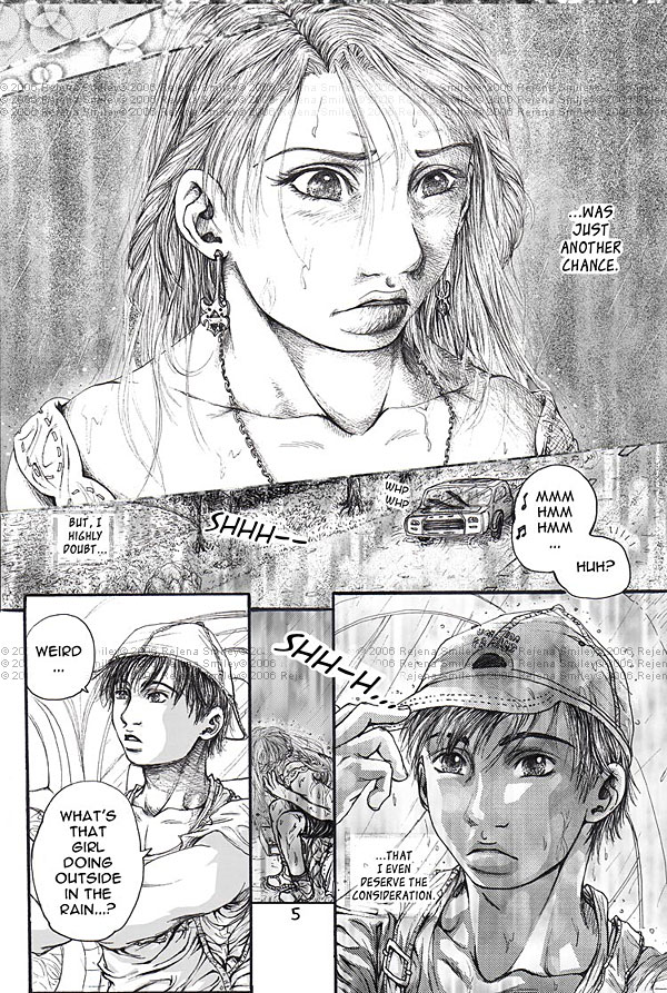 The Hitchhiker-- pg 5 by genaminna