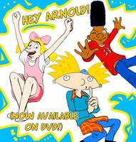 Hey Arnold on DVD--CELEBRATION by genaminna