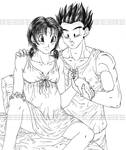 Helping with a pregnant Videl