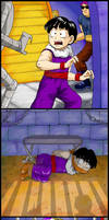 Gohan vs. The Red Ribbon Army