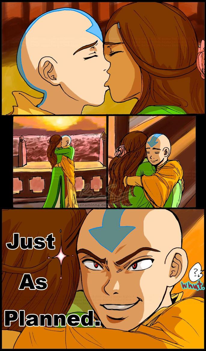 ATLA+DN: Aang gets the girl by genaminna