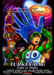 Turkey Day: 11-26-09 Poster by genaminna