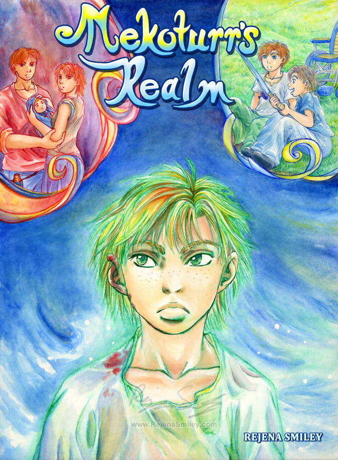 'Nekoturr's Realm' Cover Page by genaminna