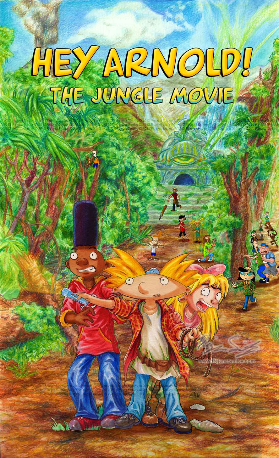 Hey Arnold- The Jungle Movie 'cover' by genaminna