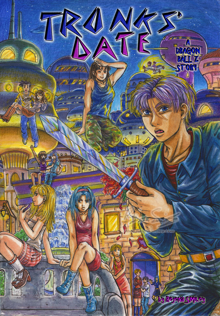 Trunks' Date-- New Cover by genaminna